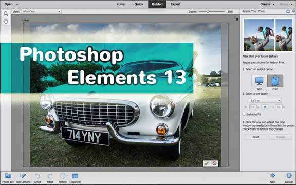 Leer online Photoshop Elements
